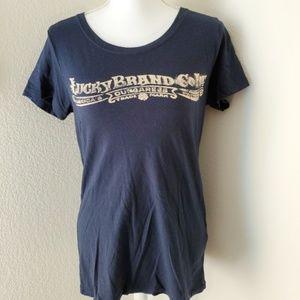 Lucky Brands Short Sleeve T-shirt Sz M